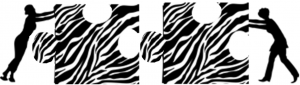 Zebra Puzzle Pieces logo