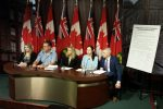MPP Michale Harris ILC Ambassadors EDS Petition October 28, 2015
